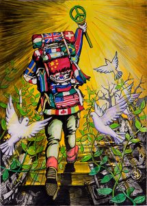 Peace Poster - Zhang
